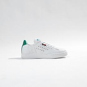 Giày thể thao nữ trắng đi học đi chơi, đế bằng siêu dễ thương năng động Rozmoda GI08