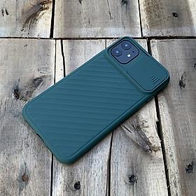 Ốp lưng kéo nắp camera dành cho iPhone 12 Mini / 12 / 12 Pro / 12 ProMax - Hàng chính hãng