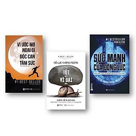 Combo 3 cuốn sách truyền động lực KZ : Nỗ lực không ngừng, Vì ước mơ ngại gì dốc cạn tâm sức và Sức mạnh của động lực