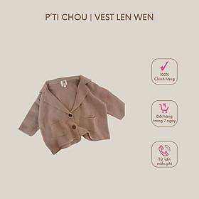 Áo Vest len Wen thiết kế bởi P'ti Chou