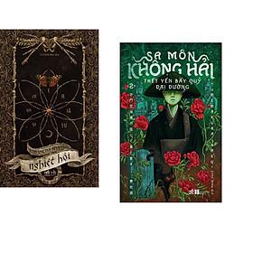 Combo 2 cuốn sách: Nghiệt hội + Sa môn Không Hải thết yến bầy quỷ Đại Đường 2