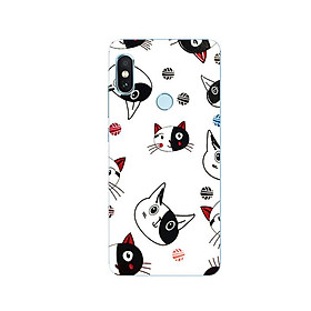 Ốp Lưng Dẻo Cho Điện thoại Xiaomi Redmi Note 5 - Kute Cat 02