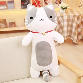 Gấu bông gối ôm mèo dài siêu xinh xắn dễ thương, Gấu bông sạng trọng, Đồ chơi thú bông