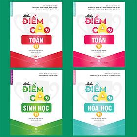 Combo Bí quyết chinh phục điểm cao Toán 11 (tập 1 + tập 2) + Hóa học 11 + Sinh học 11