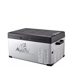 Tủ lạnh mini dùng trong nhà và trên ô tô nhãn hiệu Alpicool C25 dung tích 25 lít công suất 45W - Hàng Nhập Khẩu
