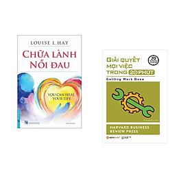 Combo 2 cuốn sách: Chữa Lành Nỗi Đau + Giải quyết mọi việc trong 20 phút