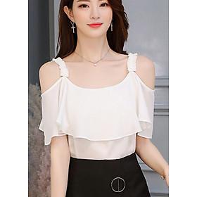 Áo Kiểu Nữ Hở Vai Cách Điệu Style Hàn Quốc Ohazo! - AG22