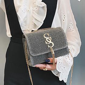 Túi xách nữ thời trang dự tiệc tua rua SS