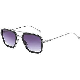 Luxury Fashion Avengers Tony Stark Flight Style Man Sunglasses Men Square Brand Design Sun Glasses Male Iron Man