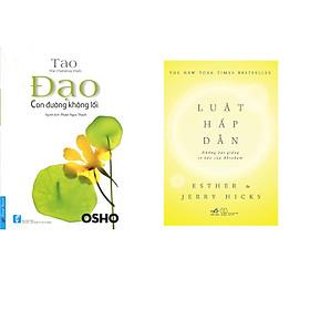 """Combo 2 cuốn sách: OSHO - Đạo """"con đường không lối"""" + Luật hấp dẫn  (Tái bản)"""