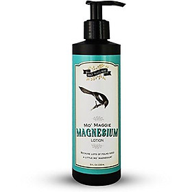 Mo' Maggie Magnesium Lotion - Highest Concentration of Genuine Zechstein Magnesium in a Lotion - Wholesome & Organic Opulent Oils & Shea Butter- 8 Fluid Ounces - by Mo' Natural