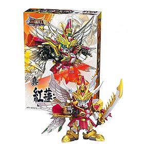 Đồ Chơi Mô hình nhân vật Gundam Tào Tháo A019 - Lego lắp ráp chiến tranh Tam Quốc