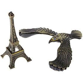 Mô hình tháp Eiffel đại bàng SZ12 thăng bằng GIAO MÀU NGẪU NHIÊN