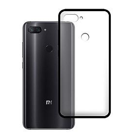 Ốp lưng Xiaomi Mi 8 Lite - Bề mặt nhám chống vân tay, lưng cứng, viền TPU dẻo - 02107 - Hàng Chính Hãng