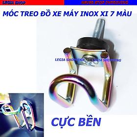 Móc Treo Đồ chữ U Inox và xi mạ 7 màu dành cho mọi loại Xe Máy,Moto,xe đạp