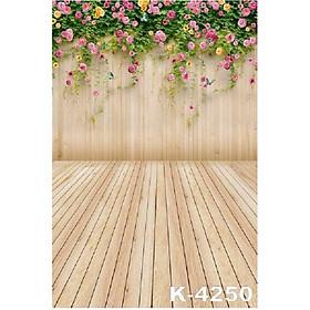 Phông vân gỗ chụp ảnh 2×3m mã K-4250
