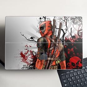 Skin dán hình Deadpool cho Surface Go, Pro 2, Pro 3, Pro 4, Pro 5, Pro 6, Pro 7, Pro X - Mã: deap010 - Surface Pro X