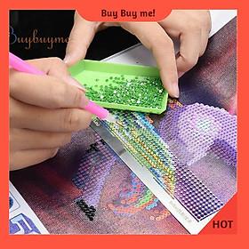 Thước inox 11.5*3cm hỗ trợ tự làm tranh đính đá thủ công thẳng hàng
