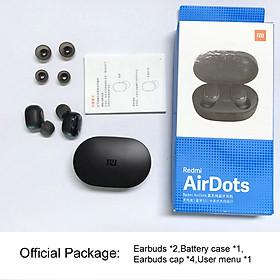 Tai Nghe Bluetooth 5.0 Không Dây Điều Khiển Bẳng Giọng Nói Cho Xiaomi Redmi