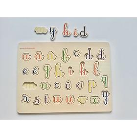Bảng chữ cái tiếng Việt kiều chữ viết tay MK00130