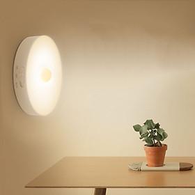 Đèn LED cảm ứng thông minh không dây, Pin sạc, có nam châm gắn tường cho phòng ngủ, nhà vệ sinh tủ quần áo - DH2011
