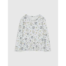 Áo phông bé gái in hình 1TL19W006 Canifa