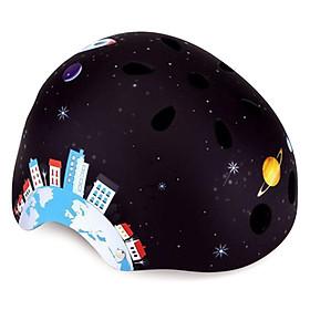 Mũ Bảo Hiểm Globber Junior - Đen