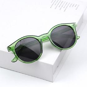 Kính râm chống tia UV cho bé, chọn màu theo ý+ Tặng kèm hộp đựng kính cao cấp- Mắt kính thời trang phản quang cho bé trai và bé gái-Kính râm trẻ em phong cách Hàn Quốc