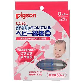 Tăm Bông Trẻ Em Nhập Khẩu Nhật Bản Pigeon