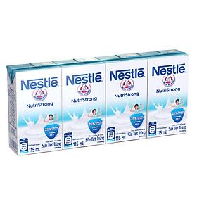 Lốc 4 hộp sữa nước Nestle Nutristrong 115ml - 30586