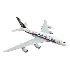 Mô Hình Máy Bay Trưng Bày Airbus A380 Singapore Airlines Everfly SG20 (20cm)