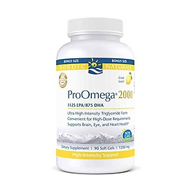 Nordic Naturals Proomega 2000 Fish Oil 1125 Mg Epa - 90 Count