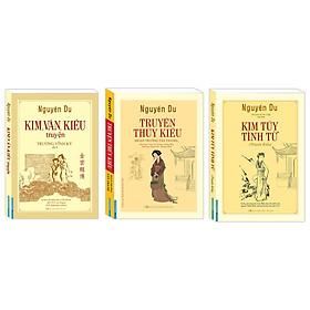 Combo Kim, Vân, Kiều truyện (bìa mềm) ,Truyện Thúy Kiều , Kim túy tình từ