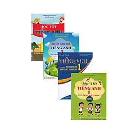 Combo Sách Tham Khảo Môn Tiếng Anh Lớp 1 Theo Chương Trình Tiểu Học Mới Định Hướng Phát Triển Năng Lực (4 Cuốn)