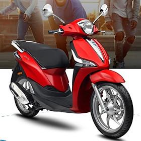 Xe máy Piaggio Liberty 50 - Đỏ