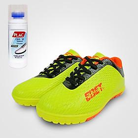 Giày đá bóng trẻ em EBET 6302 Dạ quang - Tặng bình làm sạch giày cao cấp
