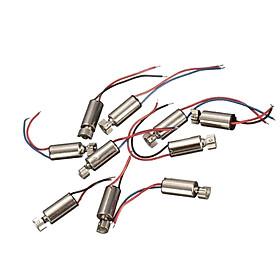 10 Chiếc 4x8mm Micro Coreless Cao Tốc Độ Động Cơ DC 1.5-3V Động Cơ Dài 8mm