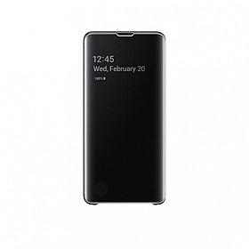 Bao Da Clear View Cover Cho Samsung Galaxy S10 - Hàng Chính Hãng