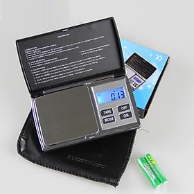 Cân tiểu ly điện tử tải trọng 1kg độ chính xác cao dùng cho nhà bếp (Tặng 2 móc treo đồ dán tường ngẫu nhiên)