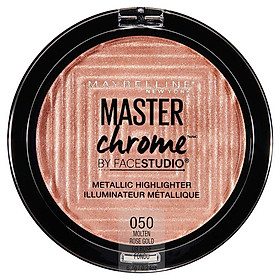 Maybelline Master Chrome Highlighter Molten Rose Gold