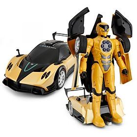 Đồ chơi xe điều khiển biến hình RASTAR Pagani màu vàng R74620/YEL