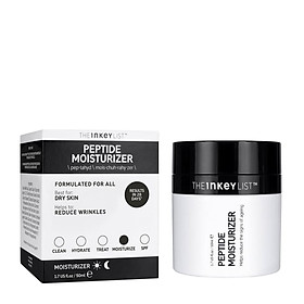 Kem dưỡng ẩm The INKEY LIST Peptide Moisturizer 50ml