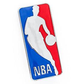 Sticker hình dán metal bóng rổ NBA 3D