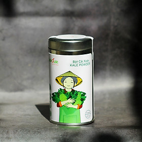 Bột cải xoăn kale sấy lạnh giảm cân thải độc Dalahouse - lon 150g
