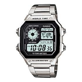 Đồng hồ nam dây kim loại Casio Standard chính hãng AE-1200WHD-1AVDF