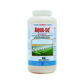 Men vi sinh xử lý nước ao nuôi nước mặn AQUA SC MARINE - Chai 1 lít - SCMARINE