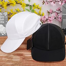 Combo 2 nón kết sơn, mũ cặp, nón cặp đường da nhỏ giữa màu trắng và đen hàng mới nhập - NC512