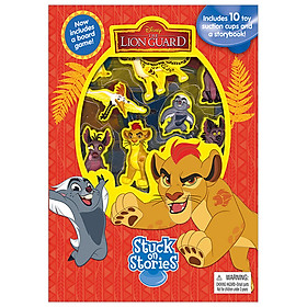 Disney Jr. Lion Guard Stuck On Stories Board book