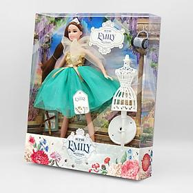 Đồ Chơi Búp Bê Cho Bé -  Búp bê Emily - Người mẫu thời trang DK 81030