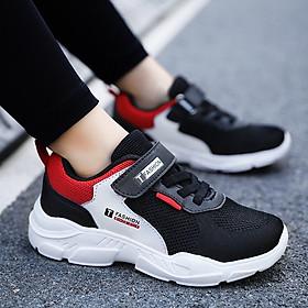 Giày thể thao bé trai 3 - 15 tuổi phong cách Hàn Quốc siêu nhẹ kháng khuẩn lên chân cực sang GE87